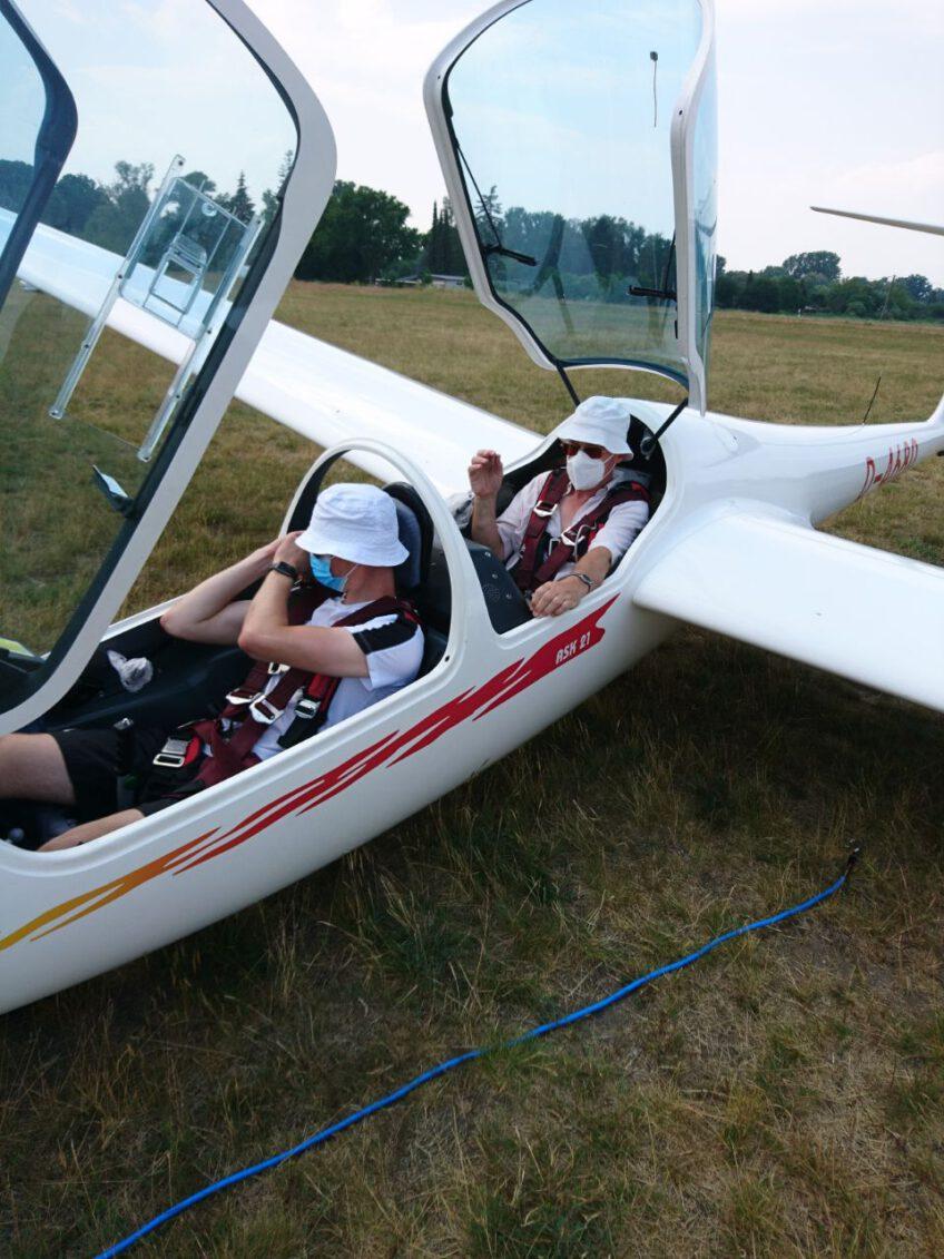 Neuer Fluglehrer