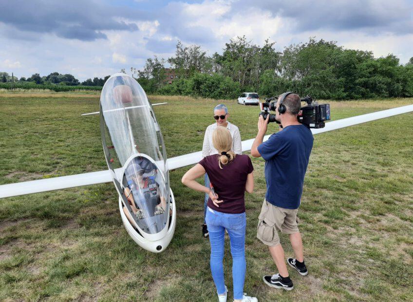 rbb-Fernsehbeitrag über den Fliegerklub Brandenburg