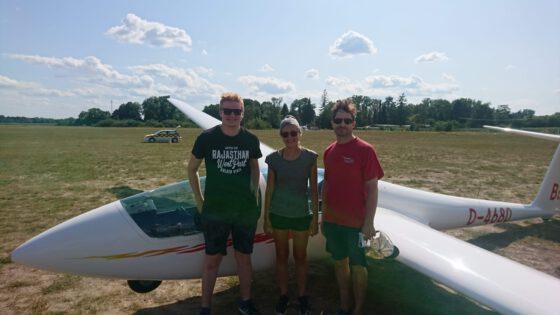 Gratulation an die jungen Piloten Lenja und Tom!