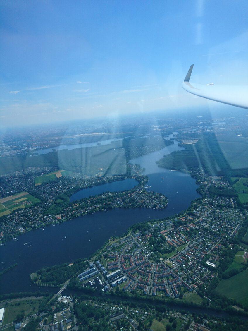 Fliegerklub Brandenburg erstmalig 2021 auf dem Treppchen und der erste neue Alleinflieger in diesem Jahr.